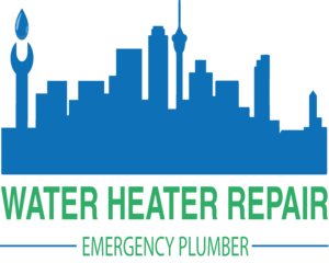 Water Heater Repair Emergency Plumber Logo
